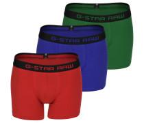 Tach Trunk 3 pack Boxerhort Herren rot grün blau
