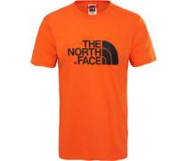 Easy T-Shirt Herren orange