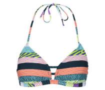 Triangle Aop W Bikini Oberteil türkis grün