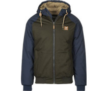 Another Flag Winterjacken Winterjacke oliv blau oliv blau