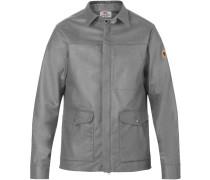 Greenland Re-Wool Shirt Herren Freizeitjacke grau