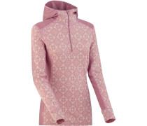 Roe Damen Merino Hoodie pink