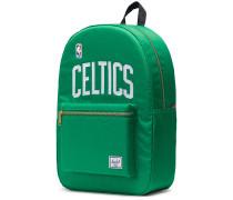 NBA Champions Collection Boston Celtics Settlement Rucksack grün