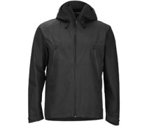 Knife Edge Regenjacke dark pruce