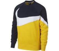 Ft Stmt Sweater Herren gelb blau