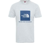 Rag Red Box T-Shirt weiß eliert