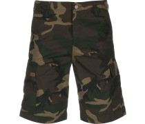 Regular Cargo Herren Shorts oliv braun