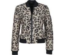 Karina W Winterjacke leopard