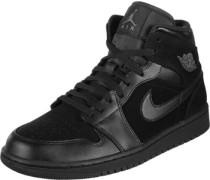 1 Mid Schuhe Herren schwarz