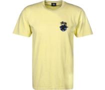 Sufrman Dot Pig. Dyed T-Shirt geb