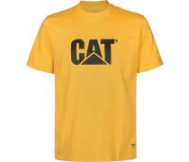 Classic Cat Herren T-Shirt gelb