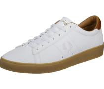 Spencer Leather Schuhe weiß braun