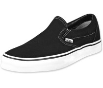 Classic Slip On Schuhe schwarz EU