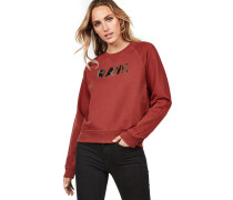 Micella Damen Sweater weinrot