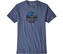 Fitz Roy Scope Herren T-Shirt bau
