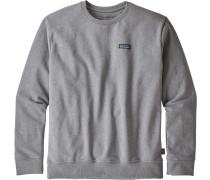 P-6 label Uprisal Herren Sweater grau meliert