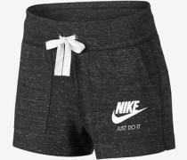 Vintage W Shorts schwarz eliert