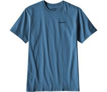 P-6 Logo Herren T-Shirt blau