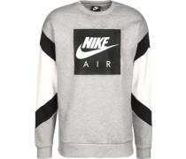 Sweater Herren grau meliert schwarz