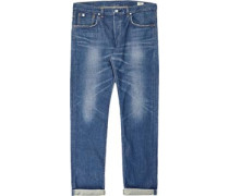 Ed-71 Classic Regular Tapered Jeans dark used