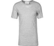 Rod Herren T-Shirt weiß schwarz gestreift