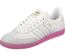 Samba W Schuhe weiß pink