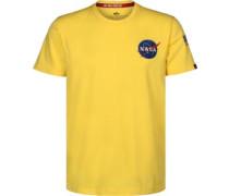 Space Shuttle T-Shirt gelb