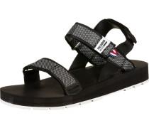 Outdoorsy Sandalen schwarz