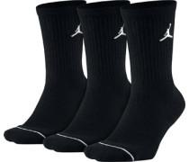 Jupan Crew 3 Pack Socken schwarz