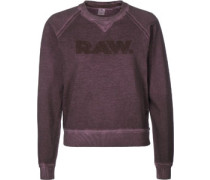 Daefera cropped r sw W Sweater Damen lila