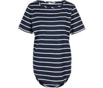 Nana W T-Shirt blau weiß gestreift