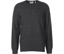 Övik Re Wool Strickpulli grau