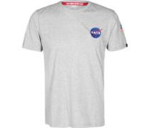 Space Shutte T-Shirt grau meiert