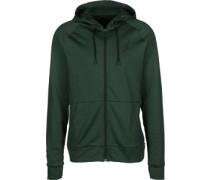 360 Hooded Zipper grün