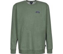P-6 Label Midweight Herren Sweater grün