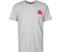 Red Dot 2 T-Shirt grau meliert