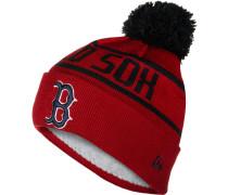 OTC Bobble Knit Boston Red Sox Herren Mütze official team colour