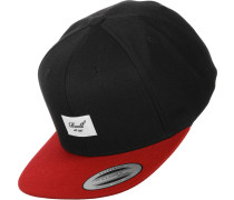 Pitchout 6-Panel Snapback schwarz rot