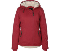 Break Winterjacke Damen rot
