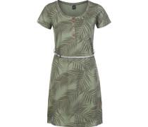 La Palma Damen Kleid oliv
