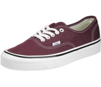 Authentic 44 Dx Schuhe weinrot EU