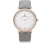 Campina Uhren Uhr grey vintage leather grey vintage leather