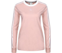 3 Stripes Longsleeve Damen pink