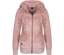 Vilma B Hooded Zipper Damen pink