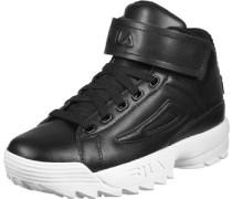 D/2 Mid W Schuhe schwarz