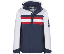 Retro Windbreaker blau weiß rot