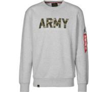 Army Camo weater Herren grau meliert