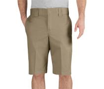 13 inch Slim Straight Work Shorts Herren beige EU