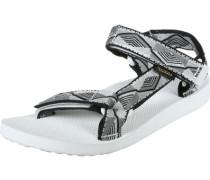Original Universal W Sandalen grau weiß schwarz