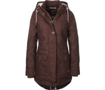 Jane Winterjacke Damen weinrot